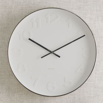 Shop: White Clock / Modern Daydream Living