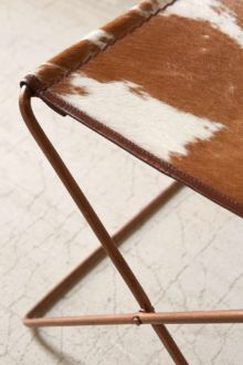 Shop: Cow Hide Stoll / Modern Daydream Living