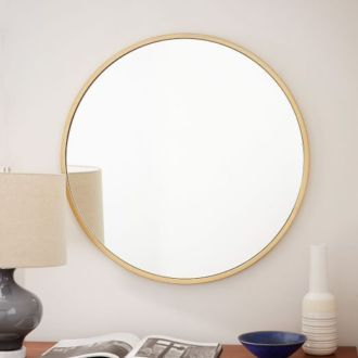 Shop: Gold Circle Mirror / Modern Daydream Living