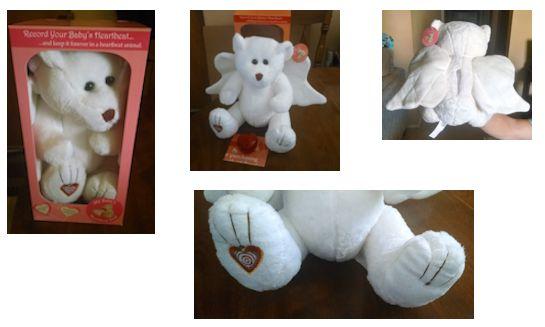 My Heartbeat Bear Kit Angel Bear