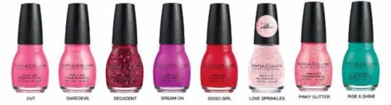 SinfulColors Valentine's Day Collection Flirt With Hearts