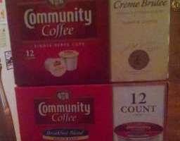 Community Coffee Review ~ Vanilla Creme Brulee & Breakfast Blend
