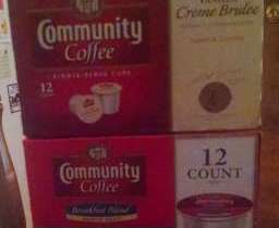 Community Coffee Review ~ Vanilla Creme Brulee & Breakfast Blend