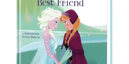Disney's Frozen You Are My Best Friend Personalized Book