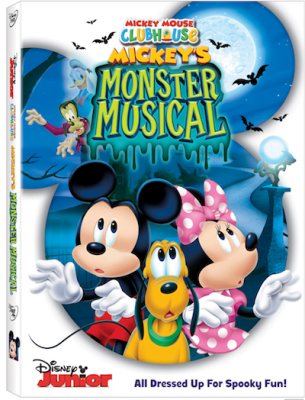 Mickey Mouse Clubhouse: Mickey's Monster Musical DVD Review