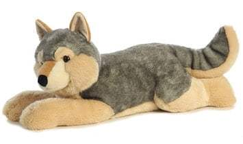 Wolf Lovers Will Love to Cuddle up to this Super Sized Cuddly Wolf! #HolidayGiftGuide2015