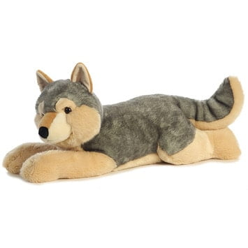 Super Sized Cuddly Wolf