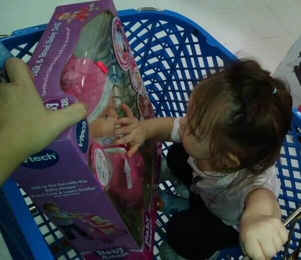 The Baby Amaze doll