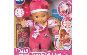 Help Your Toddler's Vocabulary with VTechToys Baby Amaze Learn to Talk & Read Baby Doll #BabyAmaze #HolidayGiftGuide2015