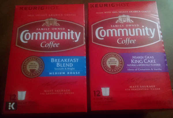 Community Coffee Carnival Cake Coffee & Breakfast Blend Coffee Reviews