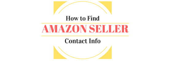 How to Find an Amazon Seller Contact Information
