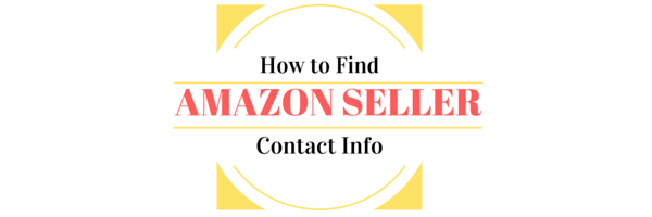 Amazon Seller Contact Information