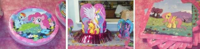 My LIttle Pony Party Decorations