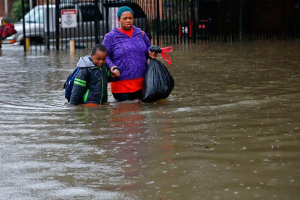 Save the Children Relief Efforts For Gulf Coast Flood Areas