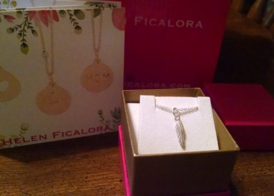 Accessorize Your Fall Wardrobe with a Helen Ficalora Sterling Silver Feather Big Mini Charm and Sterling Silver Chain