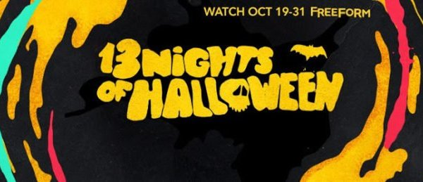 ABC Family/Freeform 2016 13 Nights of Halloween Schedule