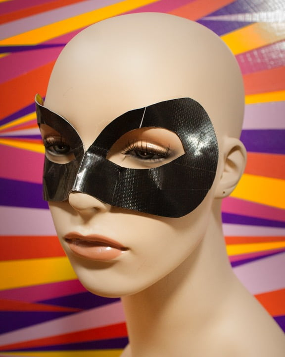 Duct Tape Halloween Masks