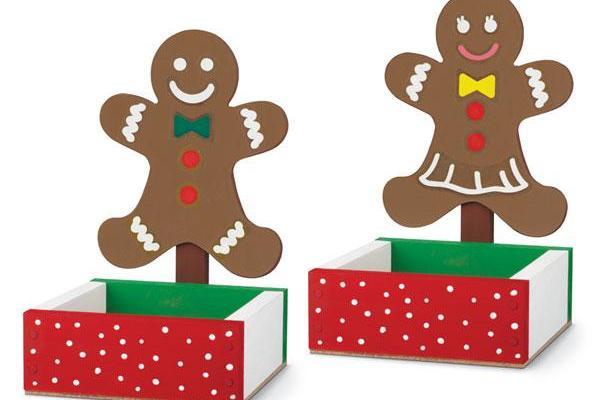 FREE Gingerbread Man Candy Dish Kids Home Depot Workshop