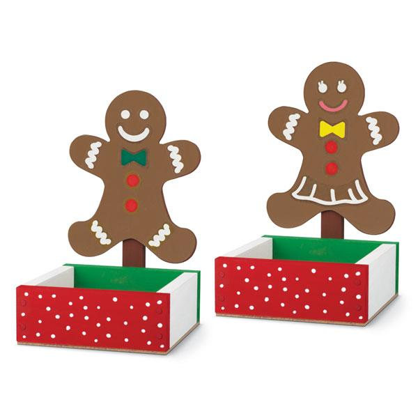 FREE Gingerbread Man Candy Dish Kids Home Depot Workshop