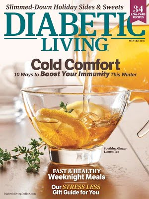 Request a FREE Diabetic Living Magazine Subscription