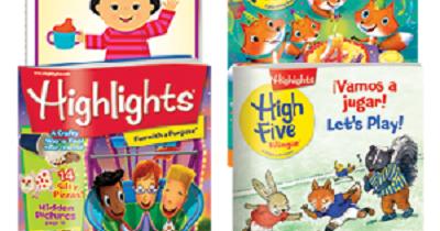 Kids 3 FREE Highlights Magazines