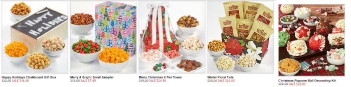 The Popcorn Factory Holiday Popcorn Sale Starting at $7.50!