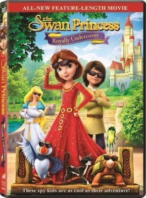 The Swan Princess Royally Undercover DVD Release Date & Trailer