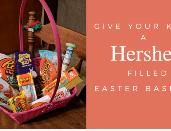 Fill their Baskets with Hershey Easter Candy…new 2017 lineup!