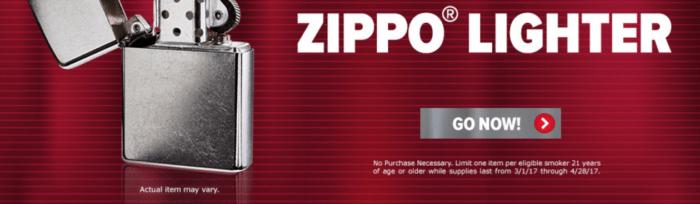 L&M FREE Zippo Lighter
