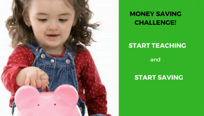 Teach Children how to Save Money with the 365 Day or 52 Week Money Saving Challenge