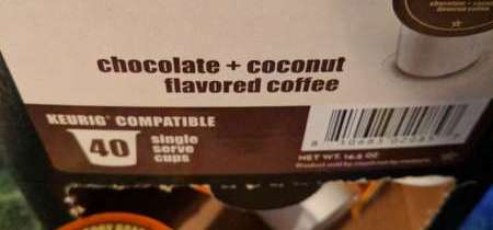 YUMMINESS! Two Rivers Java Factory Choconut Coffee!
