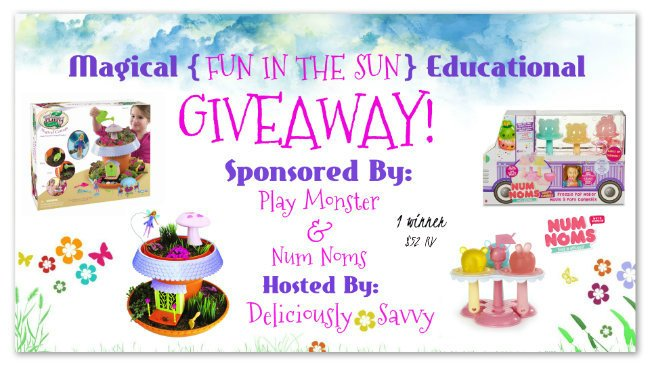 "Magical ""Fun In The Sun"" Educational Giveaway ~ 1 Winner (Ends 6/16) @officialnumnoms @PlayMonsterFun"