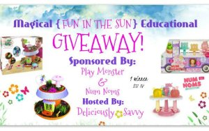 """Blogger Opp Magical """"Fun In The Sun"""" Educational Giveaway (Sign Ups Close 5/19) #Free & Paid Opps Available"""