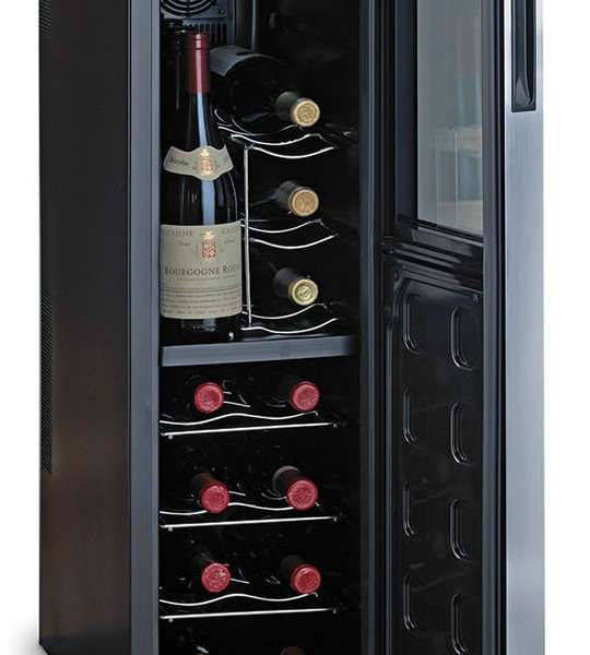 Dad Like Wine? Give him a Hammacher Ultra Slim Wine Refrigerator #AD
