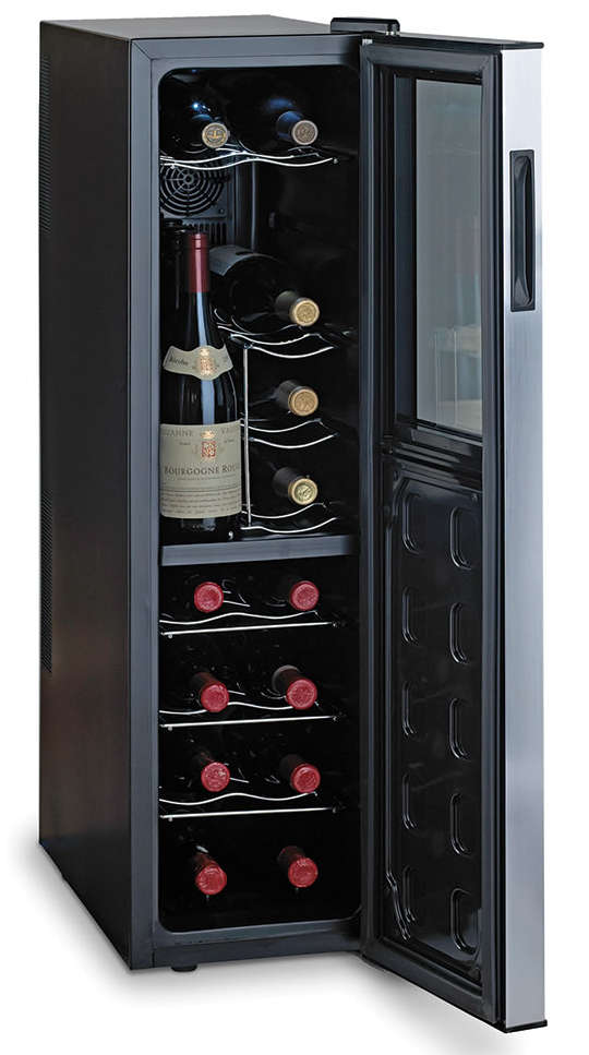 Hammacher Ultra Slim Wine Refrigerator