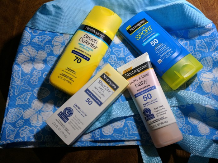 Protect Against Sunburn with Neutrogena Suncare Products