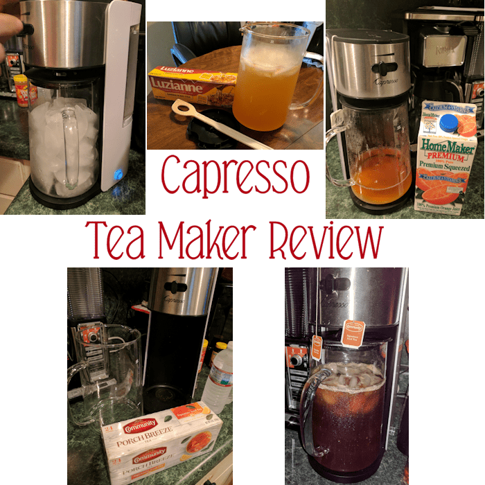 Capresso Ice Tea Maker Makes Delicious Iced Tea in 10 Minutes! #AD