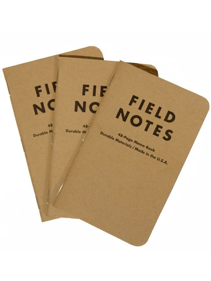 Free Field Notes Notebook