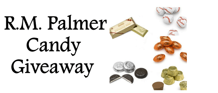 R.M. Palmer Candy Giveaway – Sports Themed, Billion $ Bar and More
