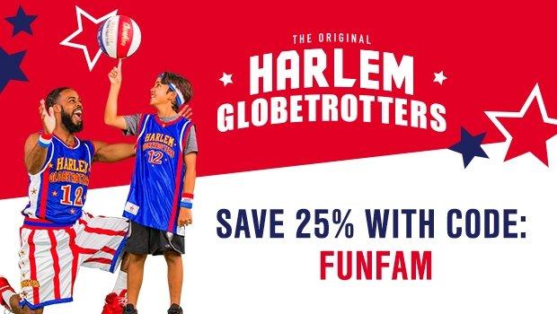 Harlem Globetrotters promo