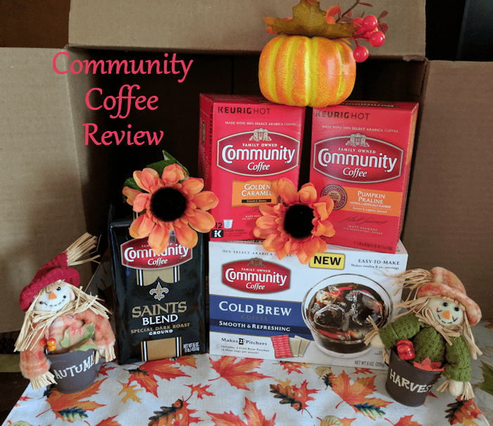 Enjoy a cup of Community Coffee's Seasonal Coffee or a Cold Brew! #AD
