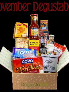 November Degustabox Food Subscription Review #AD