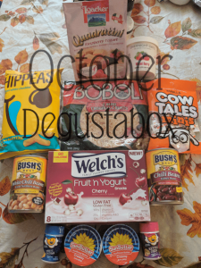 October Degustabox Food Subscription Review
