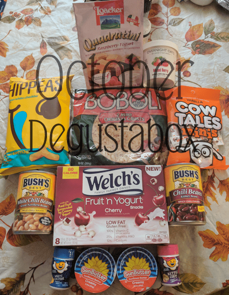 October 2017 Degustabox