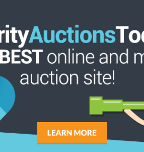 Start Silent Auctions with Charity Auctions Today! #bid #silentauction #charity #ad