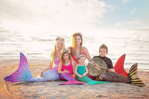 Save 10% on a Sun Tail Mermaid Tail and Monofin!