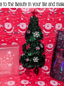 Give Sephora to the Beautiful Person in your Life! #Christmas2017 #AD