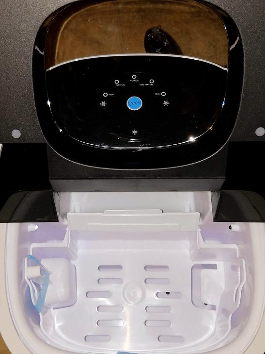 NewAir AI-250W portable countertop ice maker