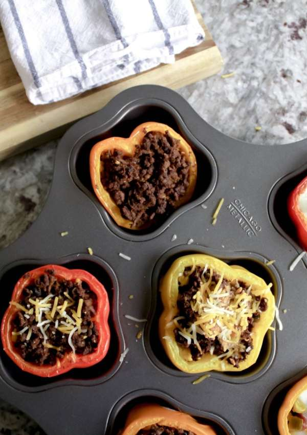 Stuffed Peppers for Breakfast, Lunch, and Dinner