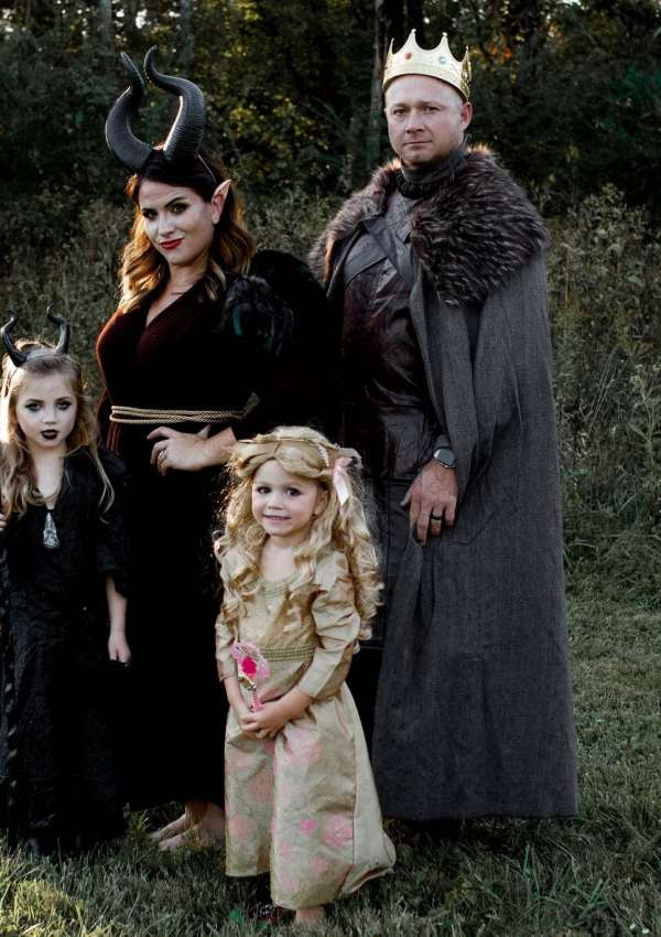 Maleficent Halloween Costume for the Whole Family